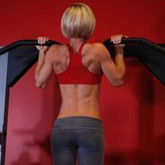 Serious weight-lifting plan for women.