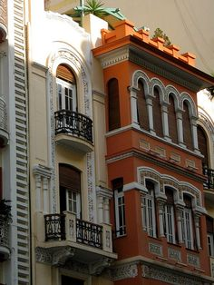 Thessaloniki architect, playing with styles and colors