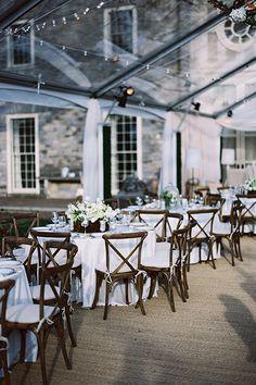 A formal wedding reception at Cheekwood Museum | @tecpetaja | Brides.com