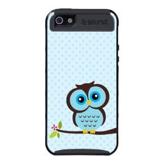 Cute Blue Owl iPhone 5 Covers by Skinit