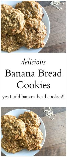 Delicious and Easy Banana Bread Cookies