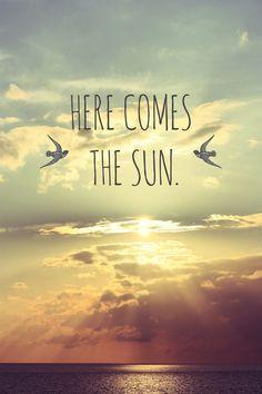 I need some sunshine!