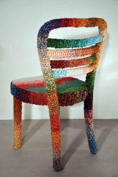 Knit chair!