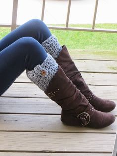 Crochet Dreamz: Bailey Boot Cuffs, Free Crochet Pattern