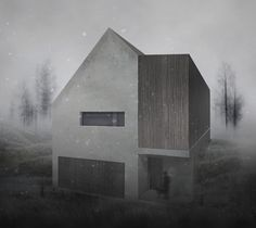 """Check out my @Behance project: """"Family house"""" https://www.behance.net/gallery/57545115/Family-house"""