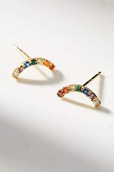Anthropologie Rainbow Climber Earrings, affiliate link