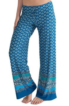 In Bloom by Jonquil Print Pajama Pants available at #Nordstrom