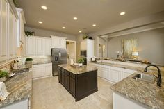 Model Home White Kitchen new ventana lakes model home - 3,257 sq. ft. - kitchen | new