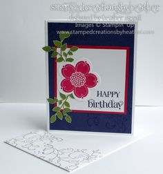 Posy Punch Birthday - Stampin' Connection