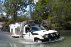 """Launched in 2009 by Aussie entrepreneur David Hazelwood, the two-berth Wedgetail tent camper is one of a range of distinctly Australian RVing and outback camping solutions of which """"Crocodile"""" Dundee himself would be proud."""