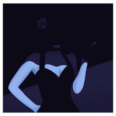 The Black Dahlia Illustration by @thomas_danthony #filmnoir#nightstuff by oykuserter