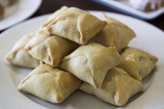 """Recipe for Chicken Dumplings from """"Skyrim.""""  Beautiful little pastry pockets filled with chicken and vegetables.  They're delicious two-bite snacks that look just like their in-game counterparts, and even have the same ingredients!  Who needs Hearthfire when you have a kitchen?? ;)"""