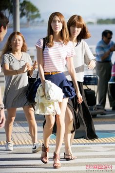[120729] Yoona at Incheon Airport Heading To New Zealand