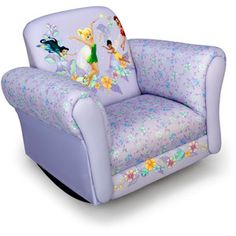Walmart Com Disney Tinker Bell Fairies Toddler Sofa
