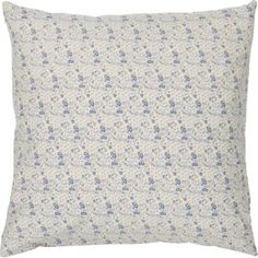 Beige Background, Blue Flowers, Quilts, Blanket, Pillows, Rugs, Home Decor, Indian Saris, Flowers