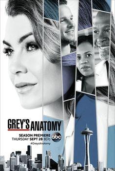L'affiche de la saison 14 de Grey's Anatomy