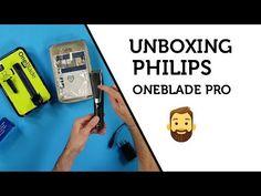 Obsah balení hybridního zastřihovače vousů Philips OneBlade Pro QP6510 #vousy #zastrihovac #philips Phone, Telephone, Phones, Mobile Phones