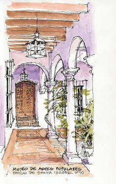 Málaga, museo de artes populares by Luis_Ruiz, via Flickr
