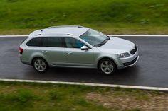 The new 2013 Skoda Octavia Combi