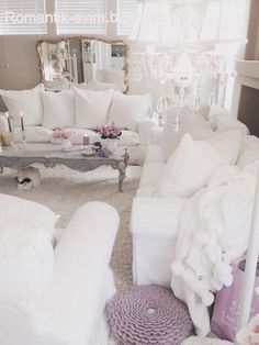 Romantic Shabby chic Romantik evim blog
