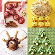 Who doesn't ooh and ahh over an adorable dessert? Let us take you month by month, season by season, to show you some of the cutest dessert recipes ever. From winter snowman cookies and summer ice cream pops to fall football brownies and more, we've got a darling lineup of desserts perfect for any holiday or occasion. Take a look!