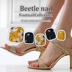 #フットネイル #大人女子の身だしなみ #アルテビートルネイル #Beetlenail #arteBeetlenail #footnail #nail https://beetle-hirose.com/nail/2017foot.html