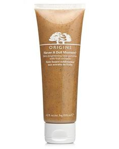 Keep skin fresh by exfoliating twice a week with Origins Never a Dull Moment.