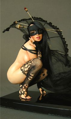 Nicole West doll - dark masquerade