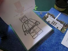 Lego Mini Figure Coloring Book - DIY with coloring pages online