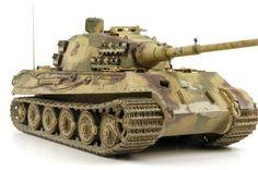 1 16 King Tiger Henschel Turret - Trumpter nr 906 - Dav - Imgur