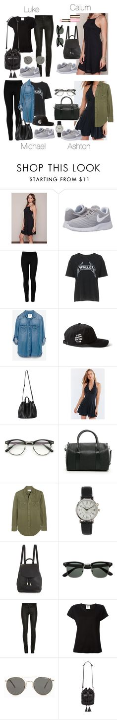 """""""5SOS Styles: NIKE Tanjun in Gray (Spring/Summer)"""" by fivesecondsofinspiration ❤ liked on Polyvore featuring NIKE, Wolford, Topshop, Zara, Silence + Noise, MANGO, Yves Saint Laurent, Geneva, rag & bone and Forte Forte Beautiful Outfits, Beautiful Beautiful, Beautiful Clothes, Nike Tanjun, Nike Outfits, Everyday Look, Yves Saint Laurent, Style Me, Topshop"""