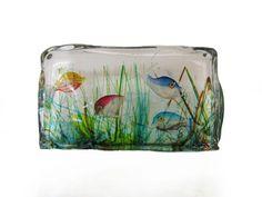 Murano Glass Aquarium Sculpture by Cenedese | Decorative Objects | Palm Beach Antique & Design Center