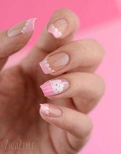 ZigiZtyle: Cupcake nails / Kuppikakkukynnet