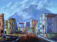 Now Oils, Painting Videos, Kinds Of Music, Survival Guide, Listening To Music, Abstract Landscape, Cape Town, Impressionism, Wilderness