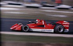 1978 Silverstone International Trophy race. Niki Lauda racing the Brabham BT45C