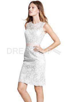Discounted Sheath Jewel Sleeveless Knee-length Empire Bridesmaid Dresses - Formal Dresses - Special Occasion Dresses - Dresshop.com.au