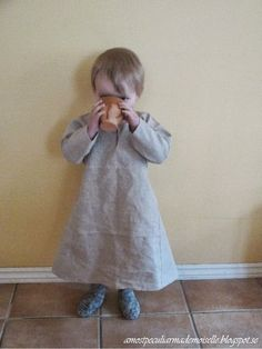 A Most Peculiar Mademoiselle: Medieval Toddler's Shirt