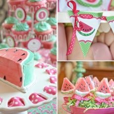 From watermelon to ice pop themes, we've got a list of summer party ideas that'll leave your newly minted one-year-old showing off a sunny, cake-covered grin.