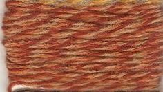 3/15 Acrylic Marl Yarn Rust Orange Tan by stephaniesyarn on Etsy, $15.00