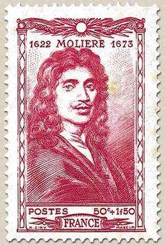 Francia 1944 - Jean-Baptiste Poquelin, llamado Molière, fue un dramaturgo, humorista y comediógrafo francés.
