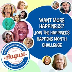Blog post at BitsofPositivity.com : Happiness Happens Month starts on August 1! During Happiness Happens Month, you'll find lots of happiness inspiration and fun activities, i[..]