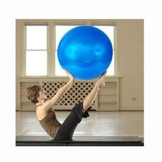 Yoga Ball 75 cm anti-burst fitness ball for home workouts and Gym