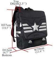 Captain America Youth Backpack School Rucksack Marvel Teenager Daypack Book Bag  #BaggexStore #Backpack