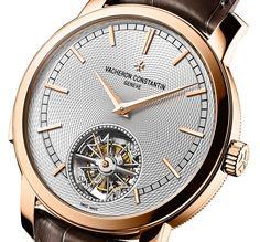 Vacheron Constantin Traditionnelle Minute Repeater Tourbillon Watch