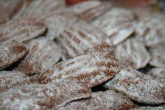 Medvedie labky Christmas Baking, Food And Drink, Bread, Cookies, Sweet, Basket, Noel, Christmas, Crack Crackers