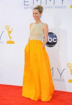 Emmys 2012: los vestidos