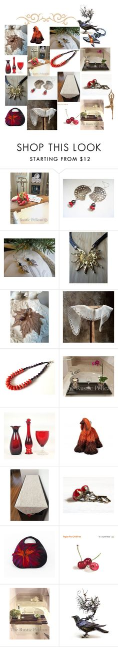 """Happy New Year !!"" by anna-recycle ❤ liked on Polyvore featuring Avon, Artistica, modern, rustic and vintage"