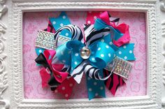 Hey, I found this really awesome Etsy listing at https://www.etsy.com/listing/179245271/hair-bow-boutique-hair-bow-over-the-top