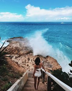 A shot of you admiring the view has a dual purpose: It captures a beautiful landscape and proves you were there—and you don't even need makeup (or open eyes). Trust us, this is an easy one.