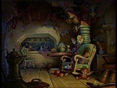 Animation Backgrounds: PINOCCHIO